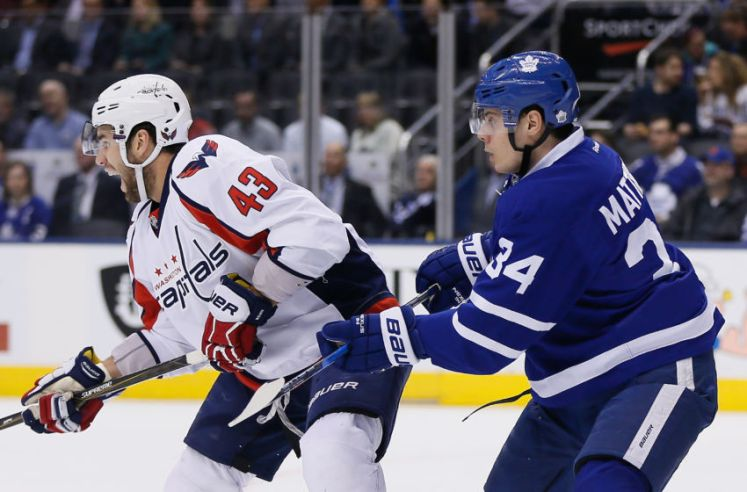 NHL: Washington Capitals at Toronto Maple Leafs